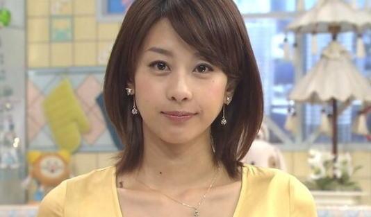 加藤綾子(カトパン)アナの顔や胸カップ、彼氏は?母親が美人と話題!その画像は?
